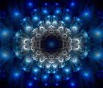 A certain blue enters your soul