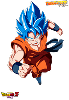 Goku ssgss by The-Catster