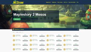 MS2Store.com screenshot