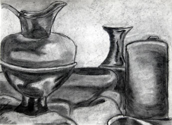 Vase and Cloth by Emo-Gothic-Seiya
