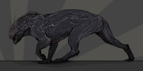 greasy beast by bluemantiIs