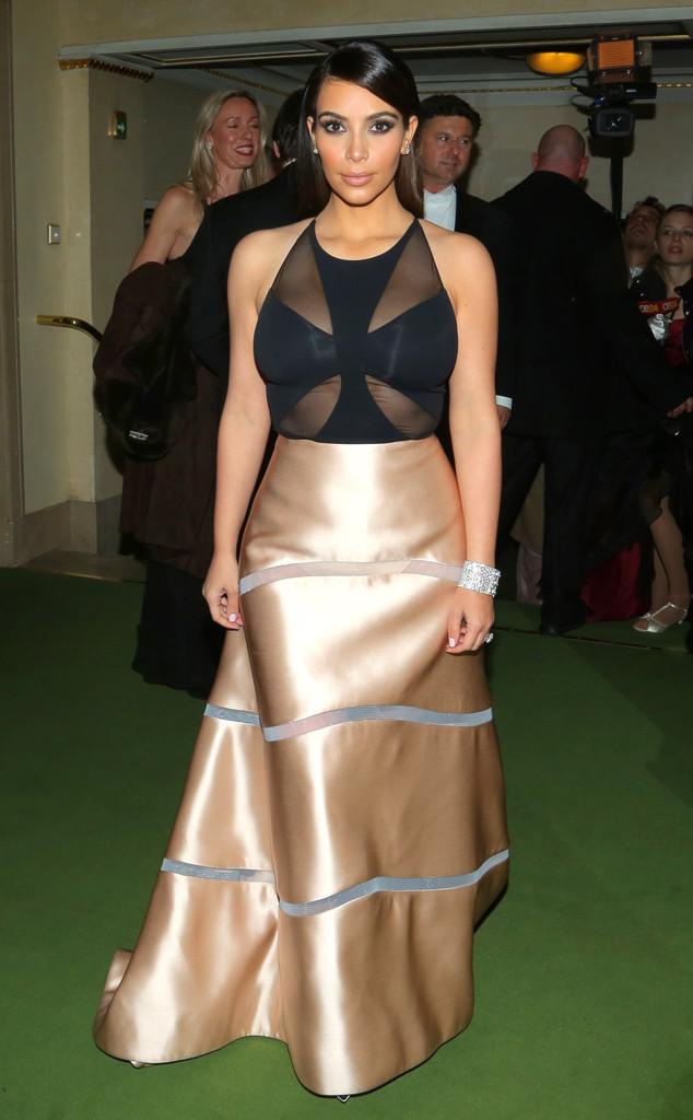 Kim Kardashian's Vienna Opera Ball Gown by celebrityphotoshop