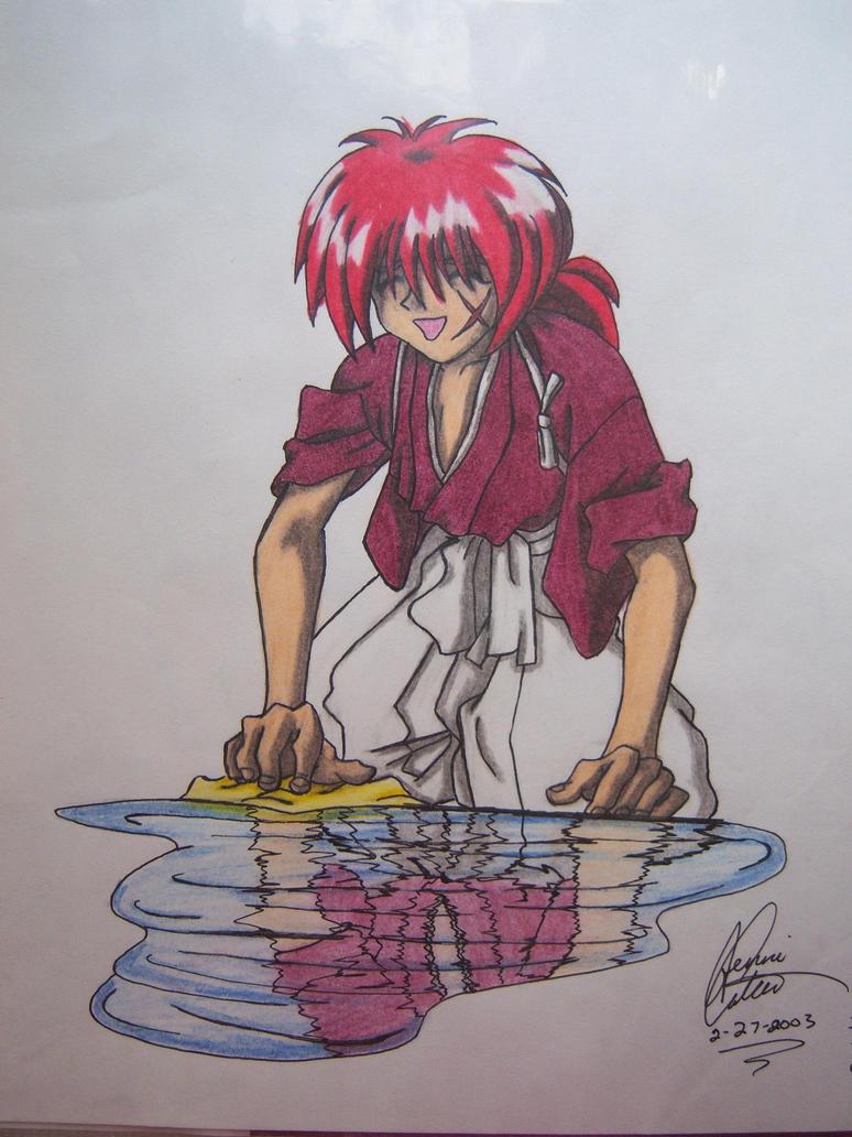 Old Rurouni Kenshin Fan Art by JunkoAn