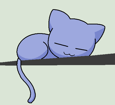 sleeping cat basealari1234bases on deviantart