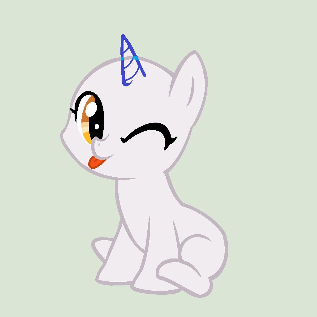 Mlp sitting pony