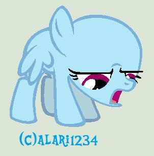 Depressed Pony Base by alari1234-Bases on DeviantArt