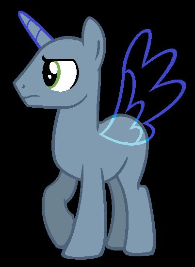 Mlp anthro base stallion