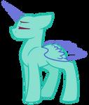 MLP Base- Original- Regal pony