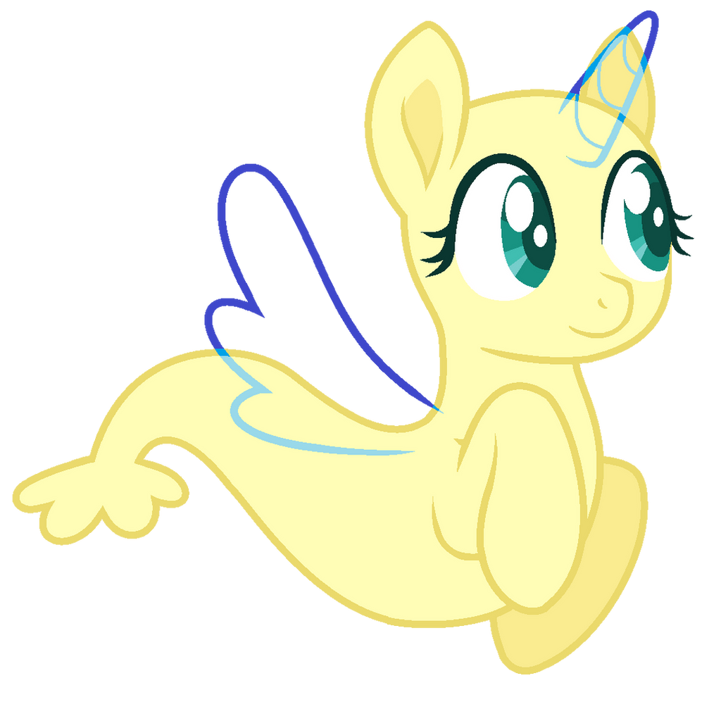 MLP Base- Cute Merpony by alari1234-Bases