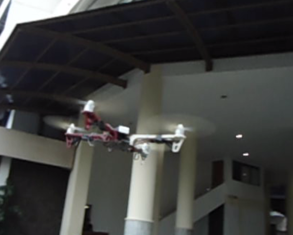 quadcopter fly by geneme