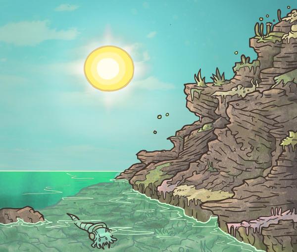 Paleozoic Eon by LutesWarmachine