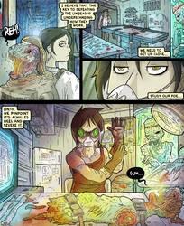 Nekyia Draft Comic 9 by LutesWarmachine