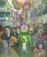 Green Shift Cover Art