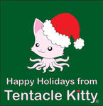 Holiday Tentacle Kitty