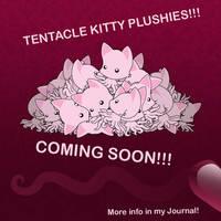 PLUSHIES!!!!! by TentacleKitty