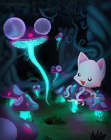 Tentacle Kitty Mushblooms by TentacleKitty