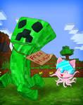 Tentacle Kitty Loves Free Hugs!