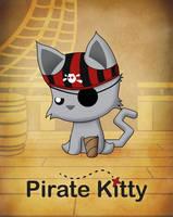 Pirate Kitty by TentacleKitty