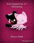 Tentacle Kitty Supports Glomps