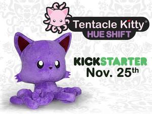 Tentacle Kitty: HUE SHIFT
