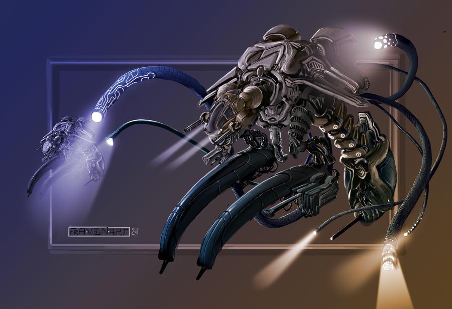wasp exploration unit by fravenier