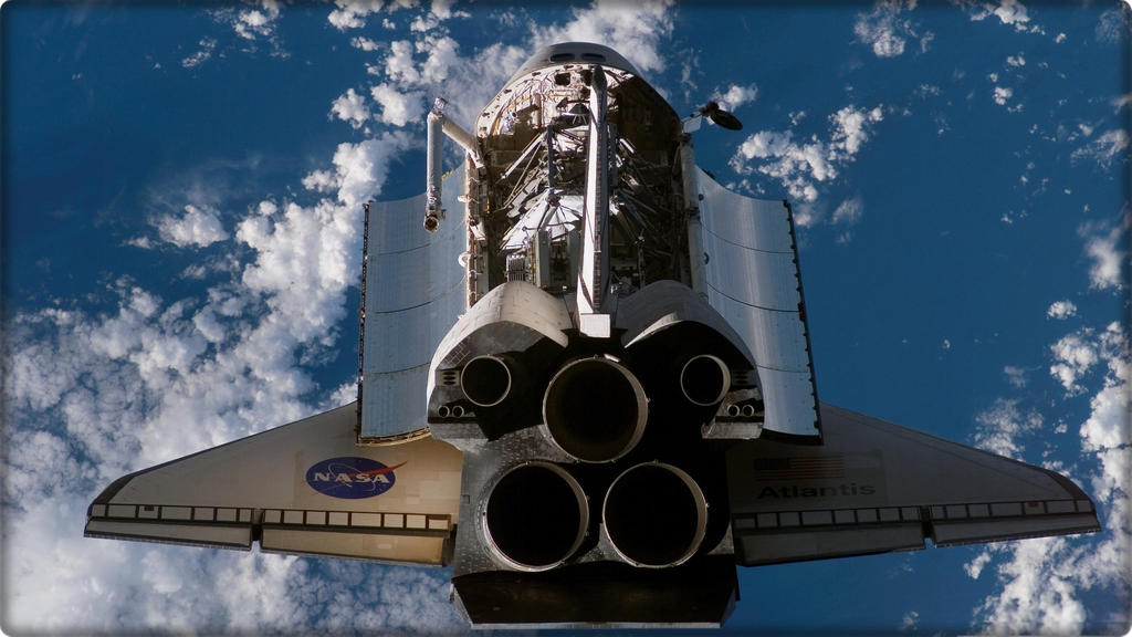 NASA space shuttle Atlantis by KYOMASTER17 on DeviantArt