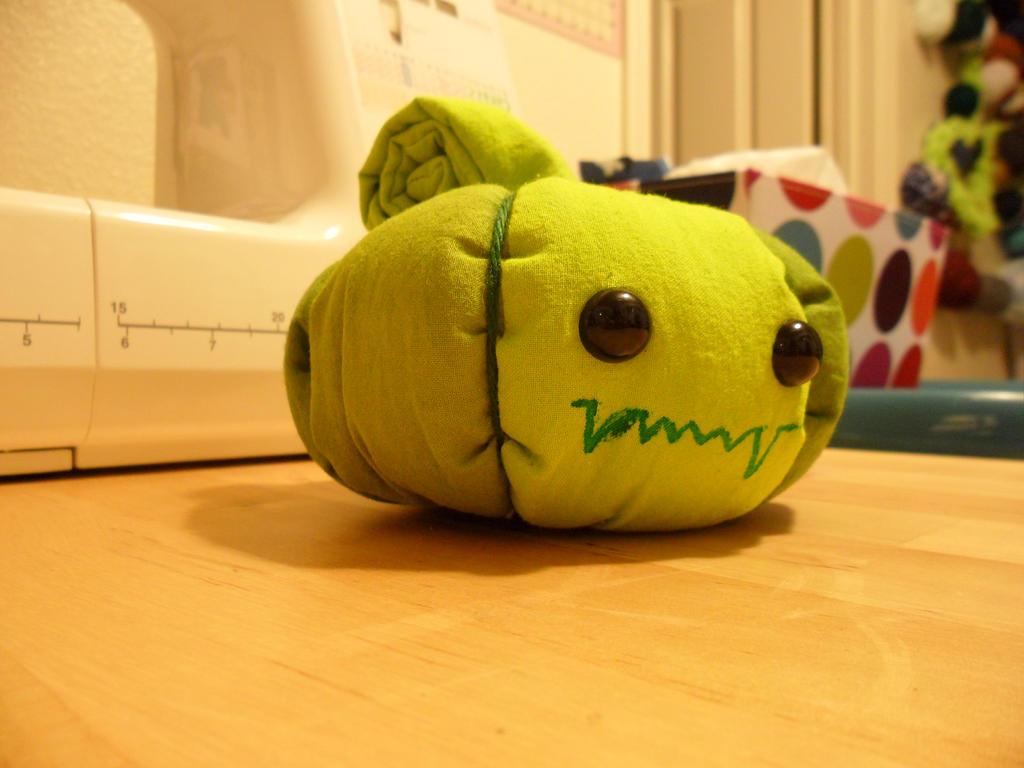 Monster Pumpkin by AppleJuiceJadeDear