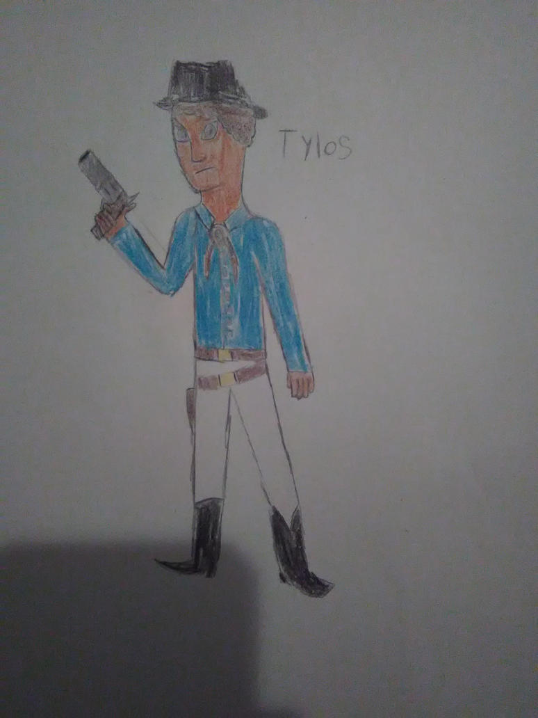 Cowboy Tylos by RedWesternRanger