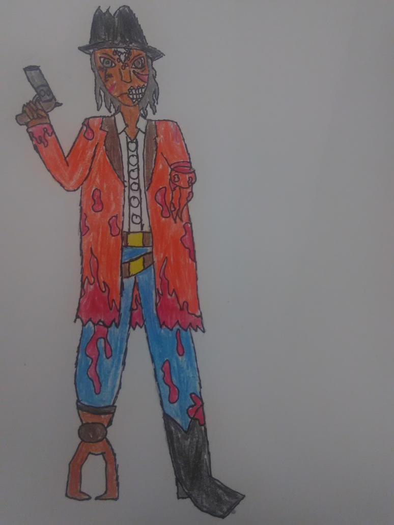 Old Cowboy Varsh by RedWesternRanger