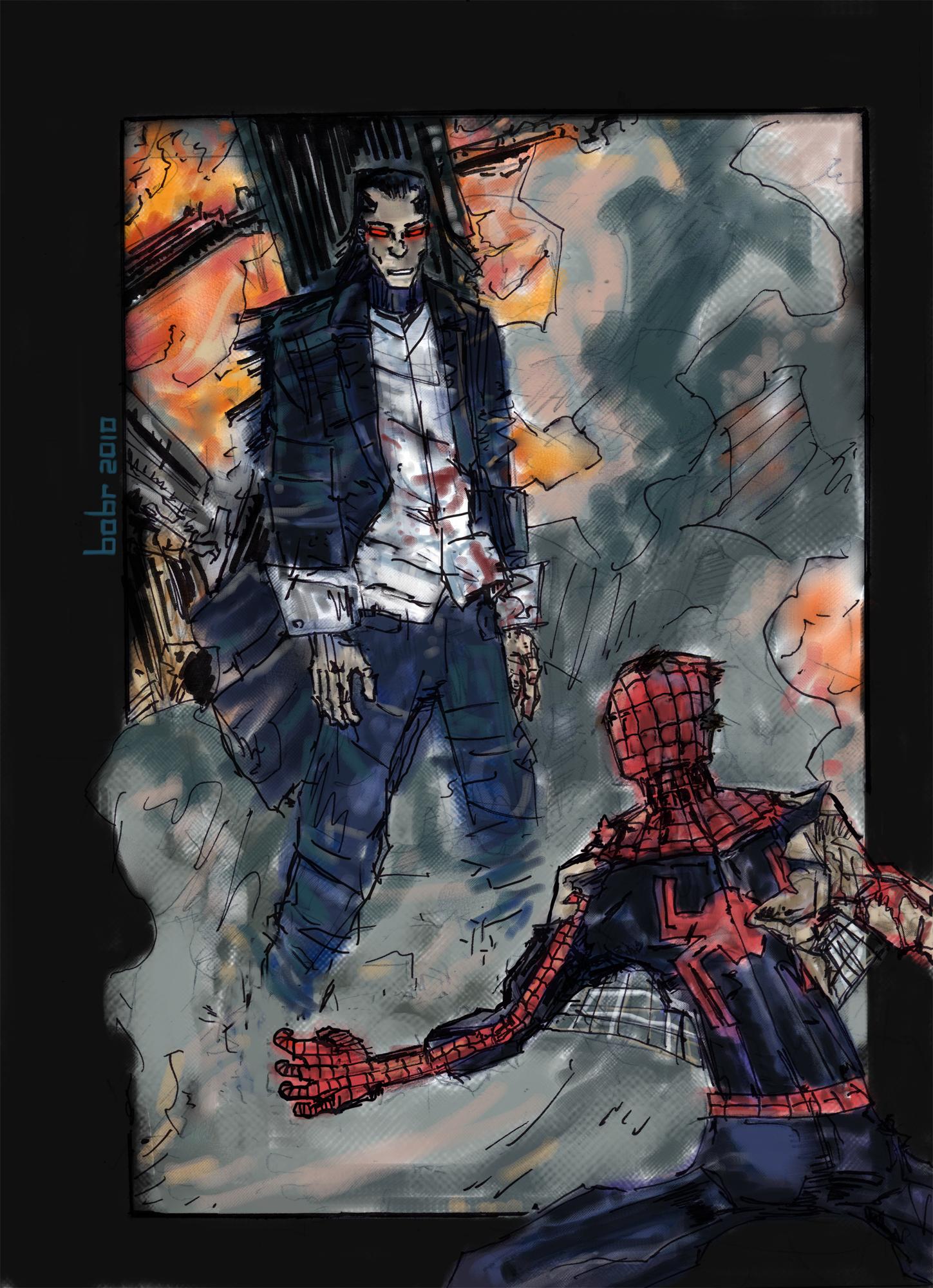 Morlun spiderman - photo#24