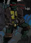 TMNT: SaiNW - Raphael