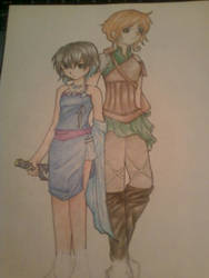 Ruri and Eve Outfit Practice