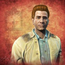 Fallout 4 Deacon by Aeltari
