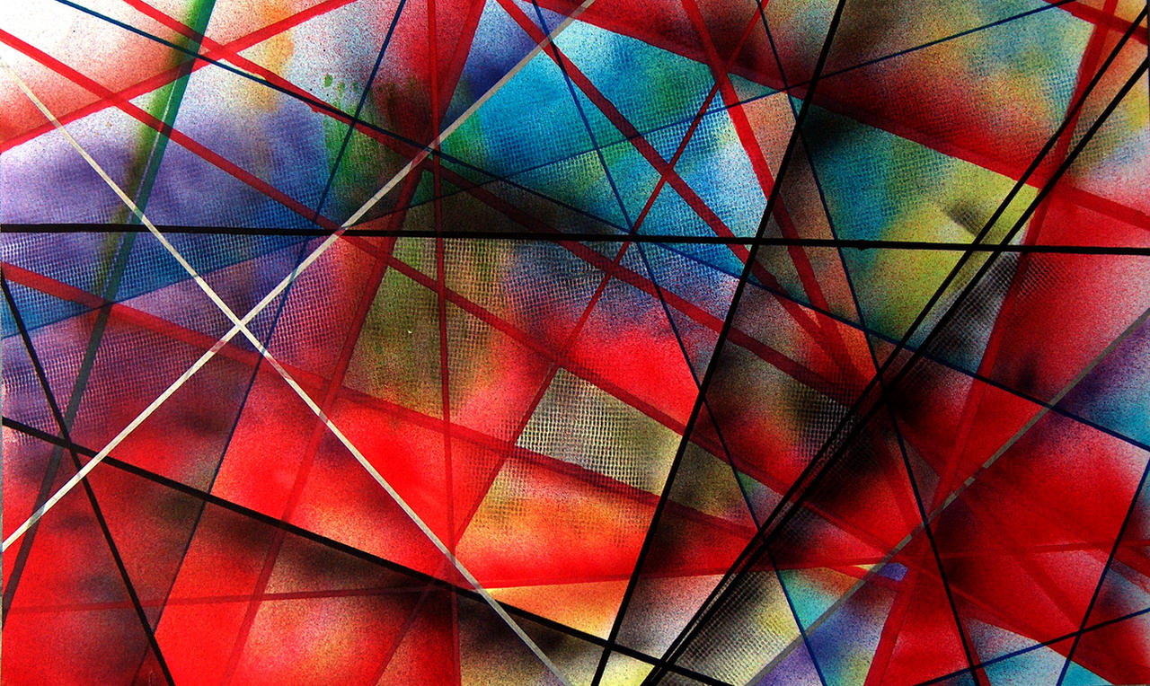 geometric graffiti by toxyl on deviantart