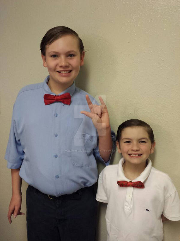 Bow Ties are Cool by mom2Ethan-Logan