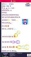 Super Saiyan God Vegeta - Ultimate LSW Sheet by lityangster5