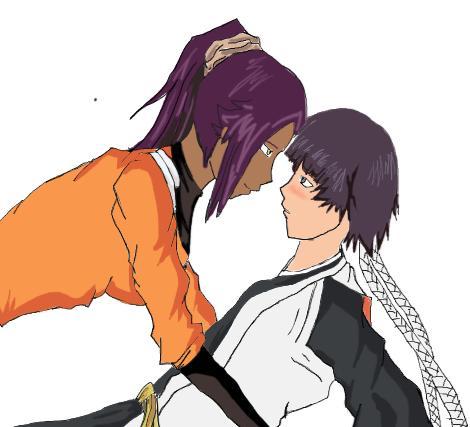 Soi fon y yoruichi hentai