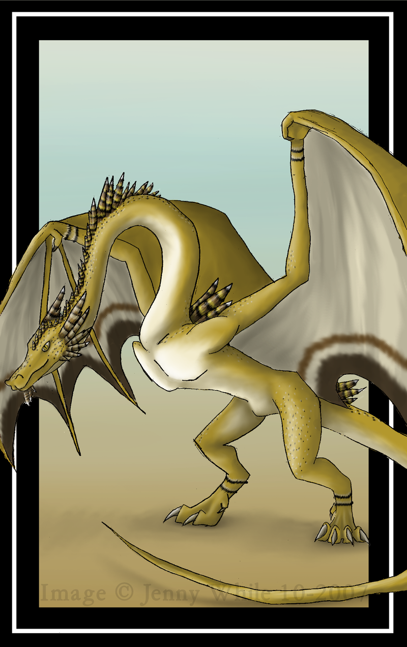 Wyvern by BlueEyesBlackTears