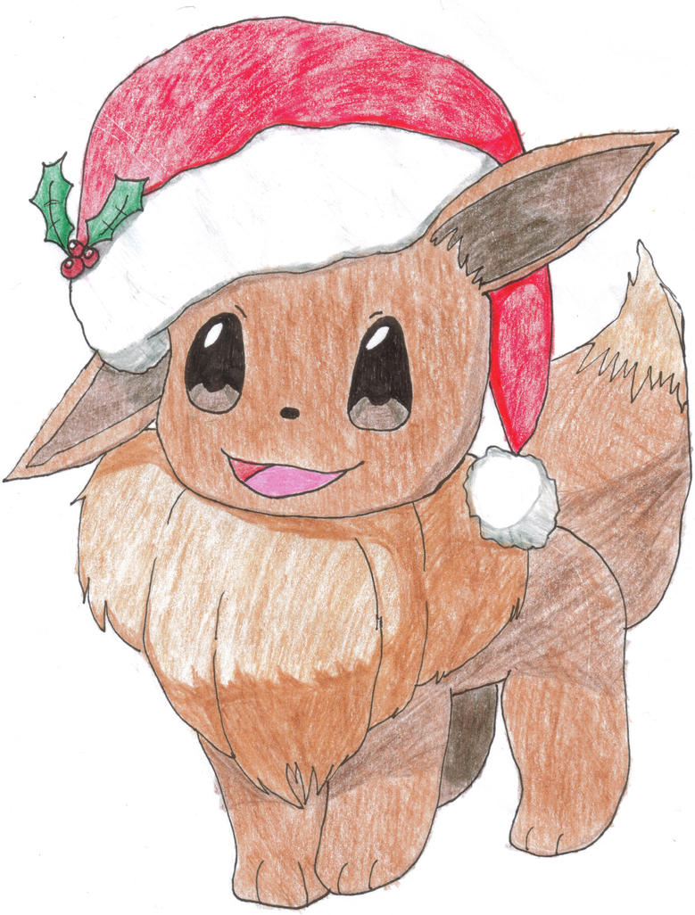 Merry Christmas Eevee by tylersong on DeviantArt