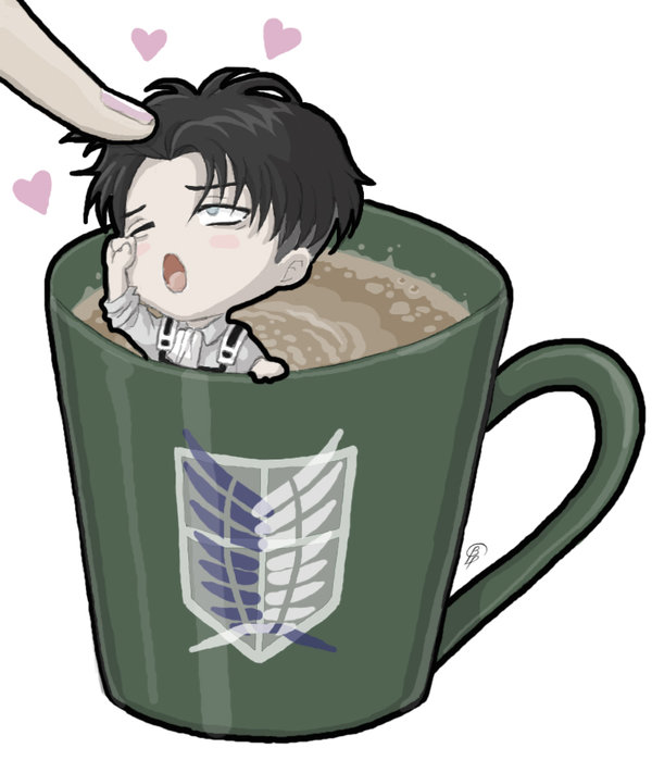 Chibi!Levi X Reader [Request] by Trashcan-of-life-16 on DeviantArt