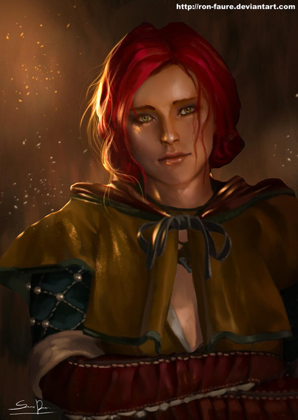 Triss Merigold by Ron-faure