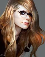 Avril Lavigne (Glasses) by Ron-faure