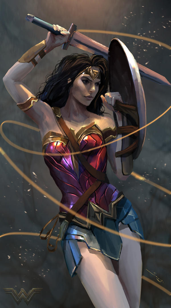 Wonder Woman by Ron-faure