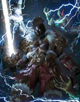 Freilneld , The Thunder Bringer by Ron-faure