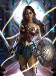 Wonder Woman[Commissions] by Ron-faure