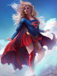Supergirl[Commission] by Ron-faure