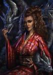 Commission - Summoner Geisha