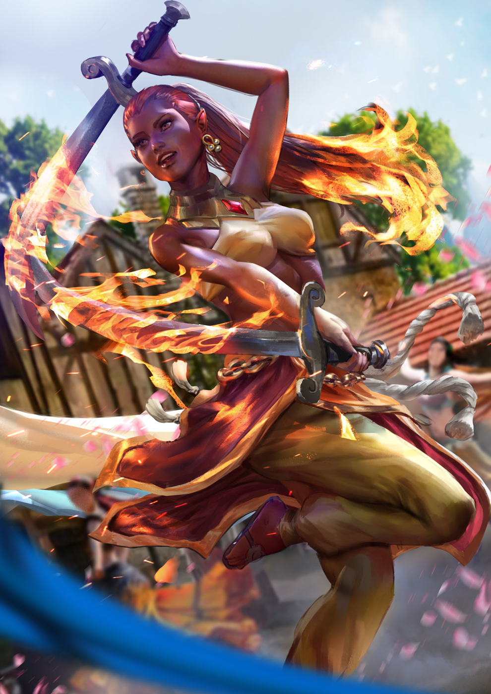 Elidi Fire Dancer