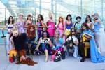 Superhero Disney Princesses 2012