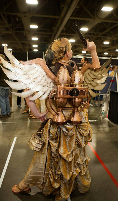 Steampunk Winged Jetpack 2 by Winged-warrior